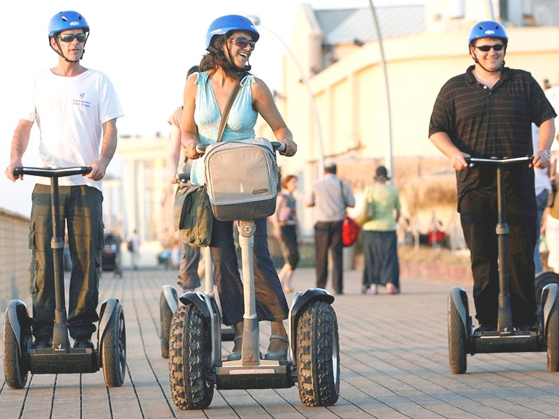 SEGWAY PARK & BEACH FUN!